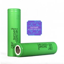 Samsung 25r - 18650 Battery